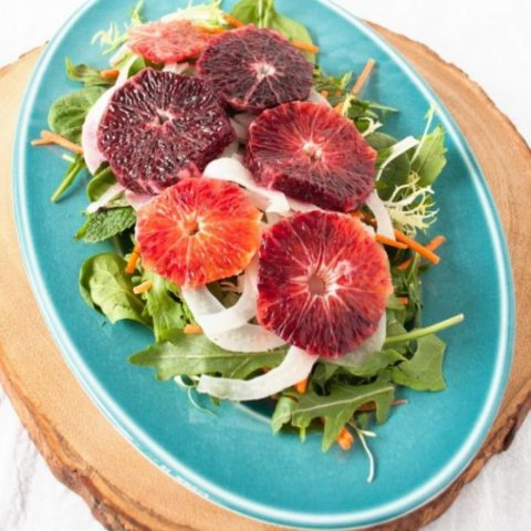 Blood Orange and Pickled Fennel Salad :: Gluten-Free, Grain-Free, Dairy-Free