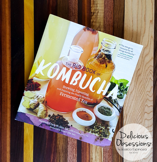 Kombucha 'n Kale Smoothie (and a book review) :: Gluten-Free, Dairy-Free, Refined Sugar-Free // deliciousobsessions.com