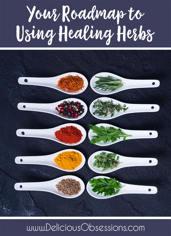 Your Roadmap to Using Healing Herbs {Free Download}