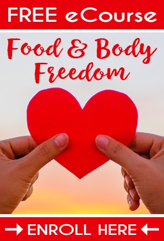 Find Food and Body Freedom with this FREE 7-Day eCourse by Nutritional Therapist and Mind Body Nutrition Coach, Jessica Espinoza