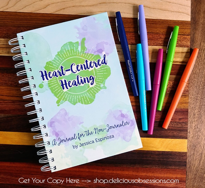The Heart-Centered Healing: A Journal for the Non-Journaler
