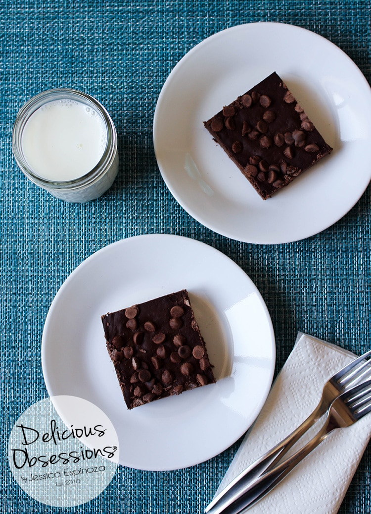 Death By Chocolate Blender Brownies, Version 2 :: Banana-Free, Gluten-Free, Grain-Free, Dairy-Free // www.deliciousobsessions.com