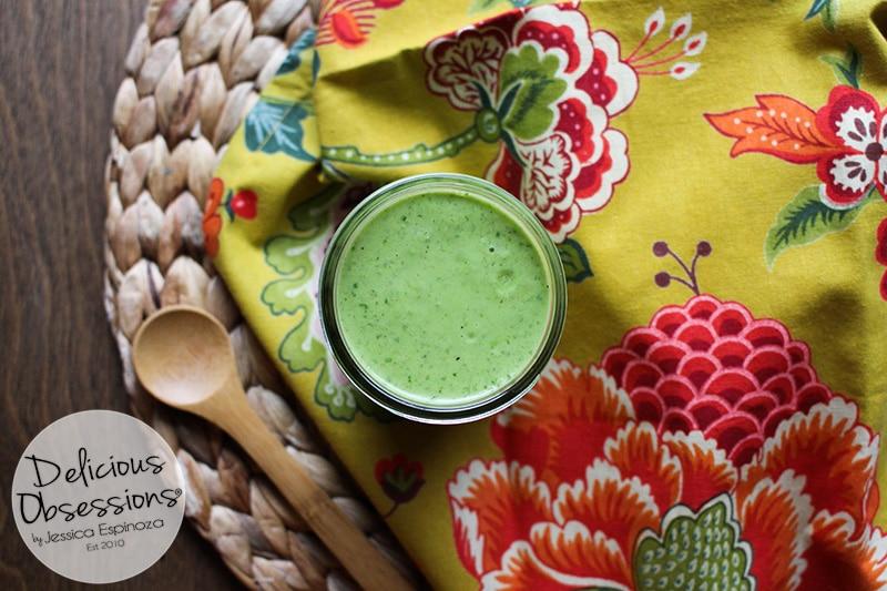 Creamy Garlic Basil Vinaigrette :: Gluten-Free, Grain-Free, Dairy-Free, Refined Sugar-Free, Real Food, Paleo