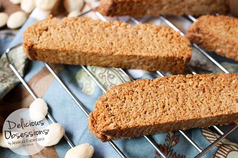 Grain-Free Almond Biscotti :: Grain-Free, Gluten-Free, Refined Sugar-Free, Real Food, Paleo