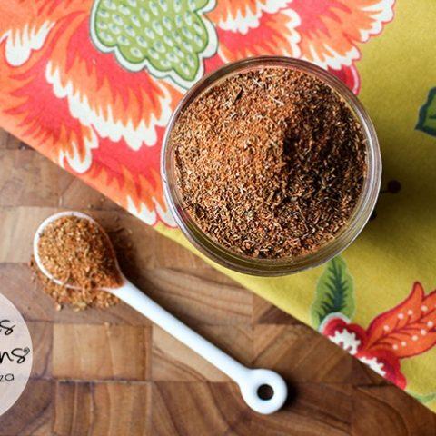 Homemade Blackening (Cajun) Seasoning Recipe // www.deliciousobsessions.com