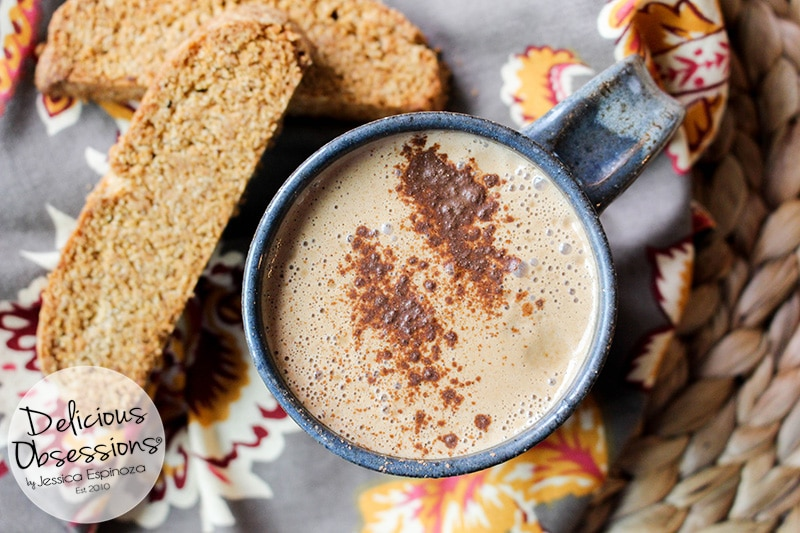 Pumpkin Spice Latte :: Dairy-Free, Gluten-Free, Refined Sugar-Free, Caffeine-Free, Low-Carb, Real Food, Paleo, Primal