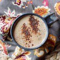 Pumpkin Spice Latte :: Dairy-Free, Gluten-Free, Refined Sugar-Free, Caffeine-Free, Low-Carb, Real Food, Paleo, Primal