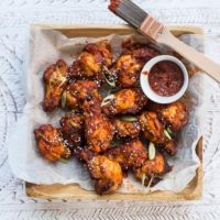 Healthy Korean Chicken Wings from Paleo Cooking with Your Air Fryer :: Gluten-Free, Grain-Free, Dairy-Free