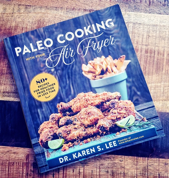 Healthy Korean Chicken Wings from Paleo Cooking with Your Air Fryer :: Gluten-Free, Grain-Free, Dairy-Free // deliciousobsessions.com