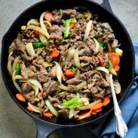 Bulgogi (BBQ Beef) from Korean Paleo
