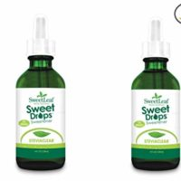 SweetLeaf Sweet Drops Liquid Stevia Sweetener, SteviaClear, 4 Ounce (Pack of 2)