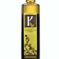 Kasandrinos 500 ML Bottle Organic Extra Virgin Greek Olive Oil - 2018/19 Harvest - NonGMO Keto Paleo, 100% Organic First Cold Pressed, Single Sourced from Greece Robust moisturizing