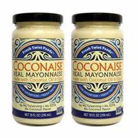 Coconaise 10oz Coconut Oil Mayonnaise (2 Jars)