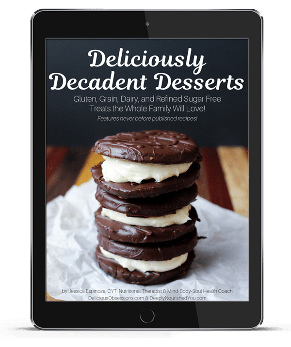 Download Your FREE Copy of Deliciously Decadent Desserts // DeliciousObsessions.com