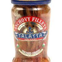 Talatta -True Gourmet Mediterranean Anchovies - Acciughe Salate, 3-Pack - Made in Italy