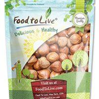 Hazelnuts/Filberts by Food to Live (Raw, No Shell, Kosher, Bulk) — 2 Pounds