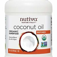 Nutiva Organic, Cold-Pressed, Unrefined, Virgin Coconut Oil