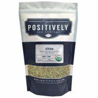 Positively Tea Company, Organic Stevia Leaf, Herbal Tea, Loose Leaf, USDA Organic, 1 Pound Bag