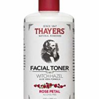 Thayers Alcohol-free Rose Petal Witch Hazel with Aloe Vera, 12 oz (Package may vary)
