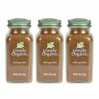 Simply Organic Chili Powder | Certified Organic | 2.89 oz. (3 Pack)