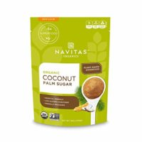 Navitas Organics Coconut Palm Sugar, 16 oz. Bag — Organic, Non-GMO, Gluten-Free, Sustainable