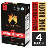 Beef Bone Broth Soup by Kettle and Fire, Pack of 4