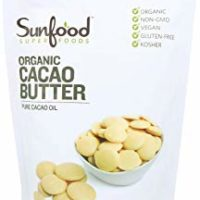 Sunfood Superfoods Cacao Butter - Organic Non-GMO. 1 lb Bag