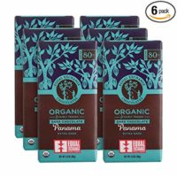 Equal Exchange Organic Panama Extra Dark Chocolate |  2.8 Ounce (Pack of 6)