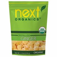 Next Organics Dried Crystallized Ginger 6 oz