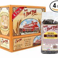 Bob's Red Mill Sun-Dried Raisins, 16-ounce (Pack of 4)