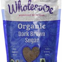 Wholesome Sweeteners Fair Trade Organic Dark Brown Sugar, 24 Ounce Pouch