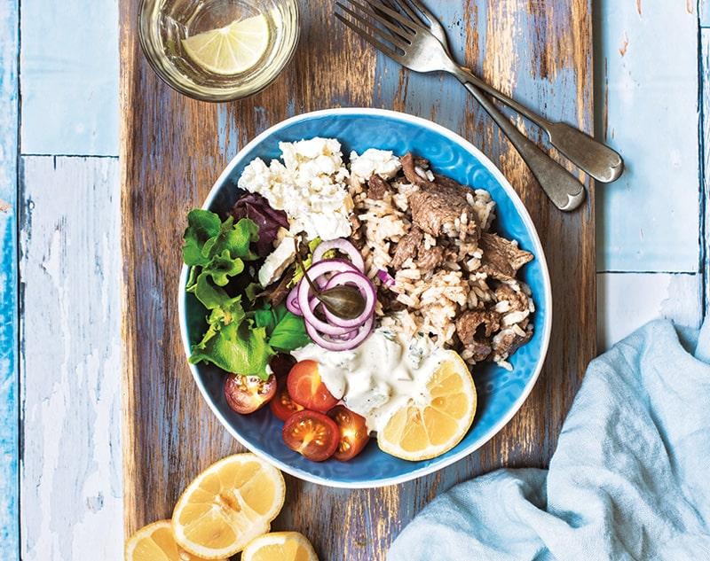 Beef Gyro Bowls :: Gluten-Free, Dairy-Free Option