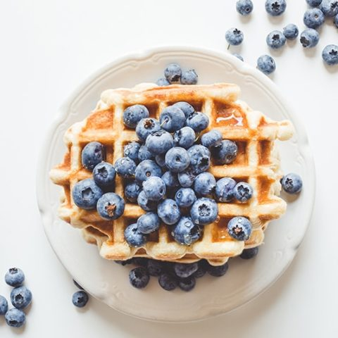 High Protein Waffles :: Gluten-Free, Grain-Free, Dairy-Free, Refined Sugar-Free // deliciousobsessions.com