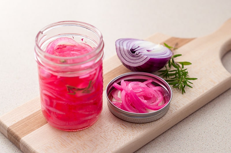 Quick Pickled Red Onions :: Gluten-Free, Grain-Free, Dairy-Free, Refined Sugar-Free