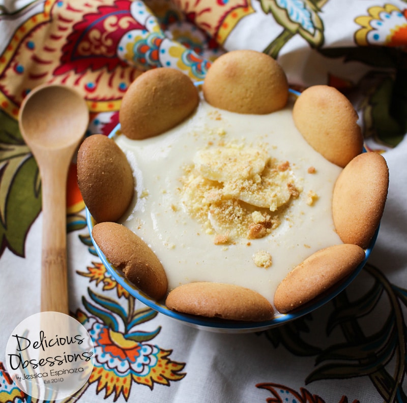 Easy Banana Pudding :: Gluten-Free, Grain-Free, Dairy-Free, Refined Sugar-Free // deliciousobsessions.com