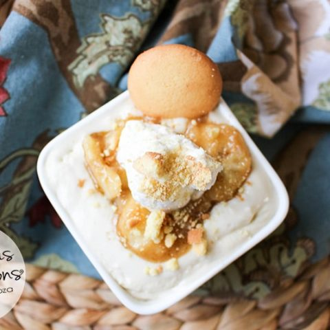 Bananas Foster Pudding :: Gluten-Free, Grain-Free, Dairy-Free, Refined Sugar-Free // deliciousobsessions.com