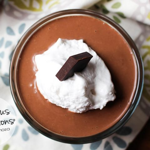 Easy Creamy Chocolate Pudding :: Gluten-Free, Grain-Free, Dairy-Free, Refined Sugar-Free // deliciousobsessions.com