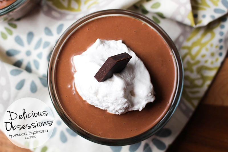 Easy Creamy Chocolate Pudding :: Gluten-Free, Grain-Free, Dairy-Free, Refined Sugar-Free