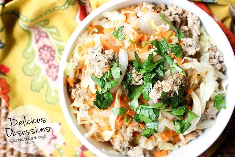 Easy Egg Roll in a Bowl :: Gluten-Free, Grain-Free, Dairy-Free, Soy-Free