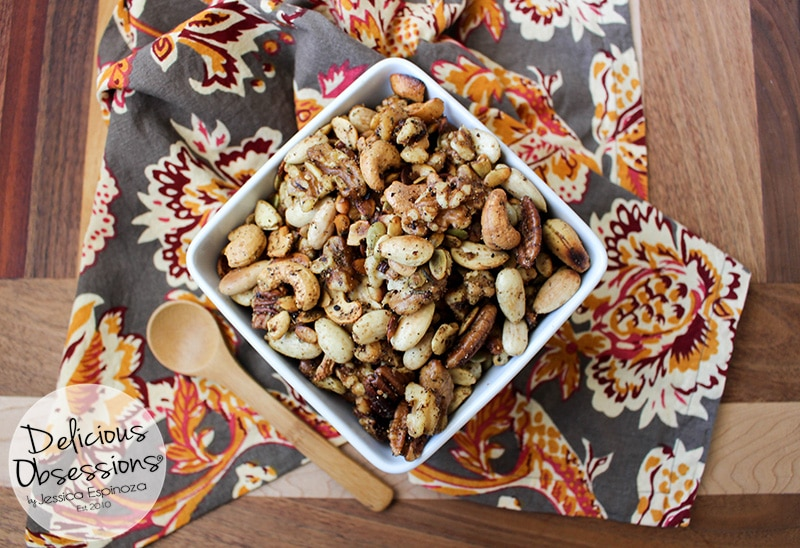 Savory Spiced Mixed Nuts :: Gluten-Free, Grain-Free, Dairy-Free Option