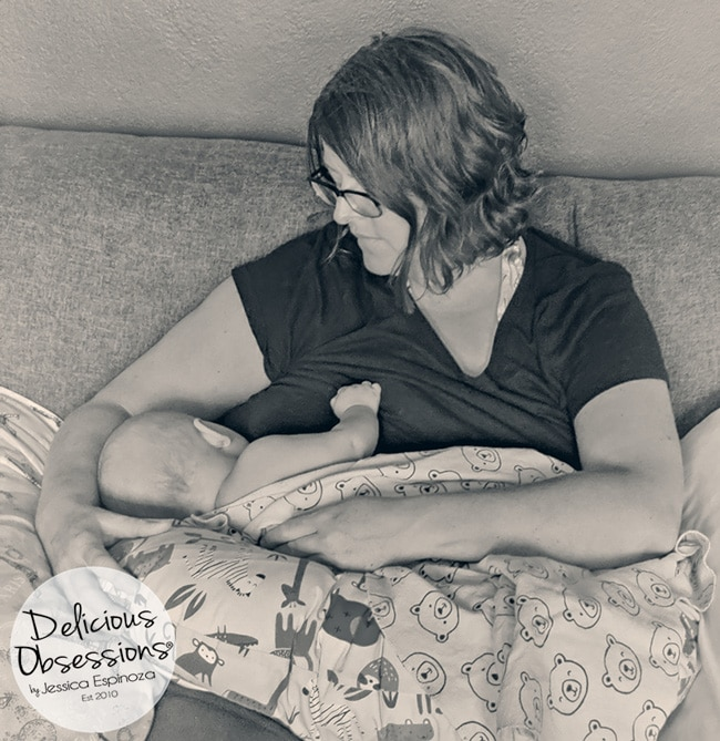 My Breastfeeding Story {From Pain-Filled Struggle to Triumphant Success!} // deliciousobsessions.com