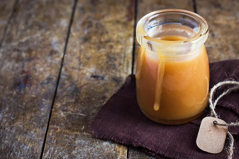 Sugar-Free Salted Vanilla Bean Caramel :: Gluten-Free, Dairy-Free Option
