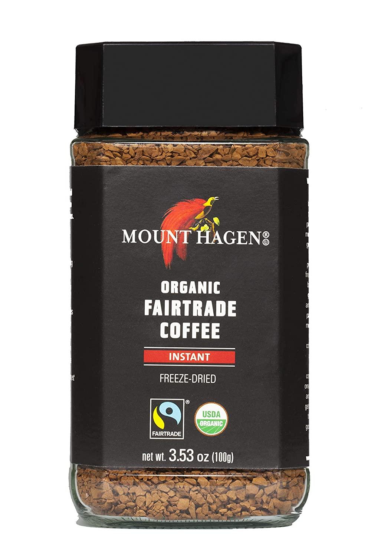 Mount Hagen Organic Fair Trade Freeze Dried Instant Coffee